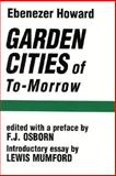Garden Cities of To-Morrow 9780262580021