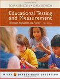 Educational Testing and Measurement 9780471700050