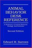 Animal Behavior Desk Reference 9780849320057