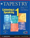 Tapestry Listening and Speaking 1 9780838400098