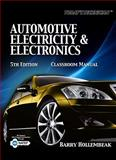 Automotive Electricity and Electronics 9781435470101