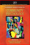 Current Directions in Community Psychology 9780205680108