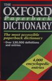 The Oxford Paperback Dictionary 9780192800121