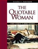 The Quotable Woman 9780816040124