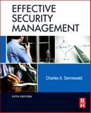 Effective Security Management 5th Edition