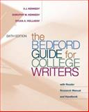 The Bedford Guide for College Writers with Reader 9780312260149