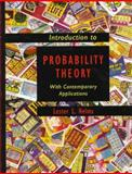 Introduction to Probability Theory 9780716730231