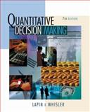 Quantitative Decision Making with Spreadsheet Applications 9780534380243