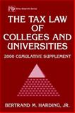 The Tax Law of Colleges and Universities, 2000 Cumulative Supplement 9780471390244