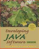 Developing Java Software 9780470090251