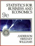 Statistics for Business and Economics (With Student CD-ROM, Ipod Key Term, and Infotrac) 9th Edition