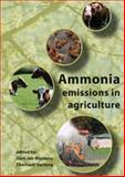 Ammonia emissions in Agriculture 9789086860296
