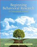 Beginning Behavioral Research 7th Edition