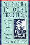 Memory in Oral Traditions 9780195120325
