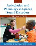 Articulation and Phonology in Speech Sound Disorders 9780133810370