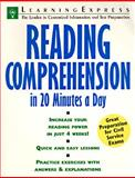 Reading Comprehension in 20 Minutes a Day 9781576850398