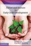 Nature and Nurture in Early Child Development 9780521840408