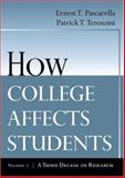 How College Affects Students 2nd Edition
