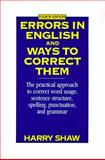 Errors in English and Ways to Correct Them 4th Edition