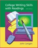 College Writing Skills with Readings 9780072460476