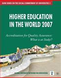 Higher Education in the World 2007 9780230000476