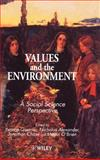 Values and the Environment 9780471960478