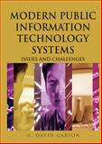 Modern Public Information Technology Systems 1st Edition