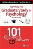 Preparing for Graduate Study in Psychology 2nd Edition