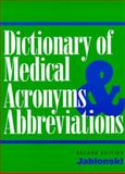 Dictionary of Medical Acronyms and Abbreviations 9781560530527