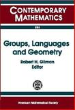 Groups, Languages and Geometry 9780821810538