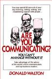 Are You Communicating? 9780070680548