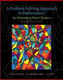 A Problem Solving Approach to Mathematics for Elementary School Teachers 10th Edition