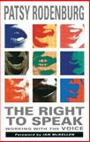 The Right to Speak 9780878300556