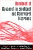 Handbook of Research in Emotional and Behavioral Disorders 9781593850562