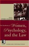 The Handbook of Women, Psychology, and the Law 9780787970604