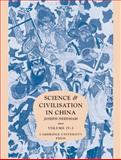 Science and Civilisation in China 9780521070607