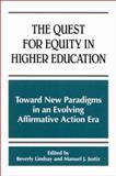 The Quest for Equity in Higher Education 9780791450611