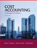 Cost Accounting 9780132960649