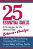 25 Essential Skills and Strategies for Behavior Analysts 9780415800679