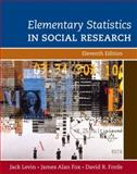 Elementary Statistics in Social Research 11th Edition