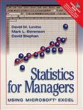 Statistics for Managers Using Microsoft Excel 9780130950710