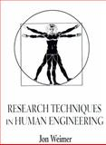 Research Techniques in Human Engineering 9780130970725