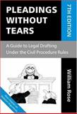 Pleadings Without Tears 9780199280773