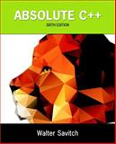 Absolute C++ 9780133970784