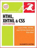 HTML, XHTML, and CSS 9780321430847