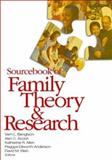 Sourcebook of Family Theory and Research 9781412940856
