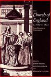 The Church of England C. 1689-C. 1833 9780521890953