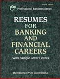 Resumes for Banking and Financial Careers 9780658011030