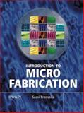 Introduction to Microfabrication 9780470851050