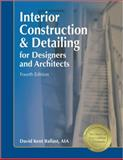 Interior Construction and Detailing for Designers and Architects 4th Edition
